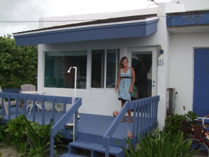 Sheri at Bahamas villa