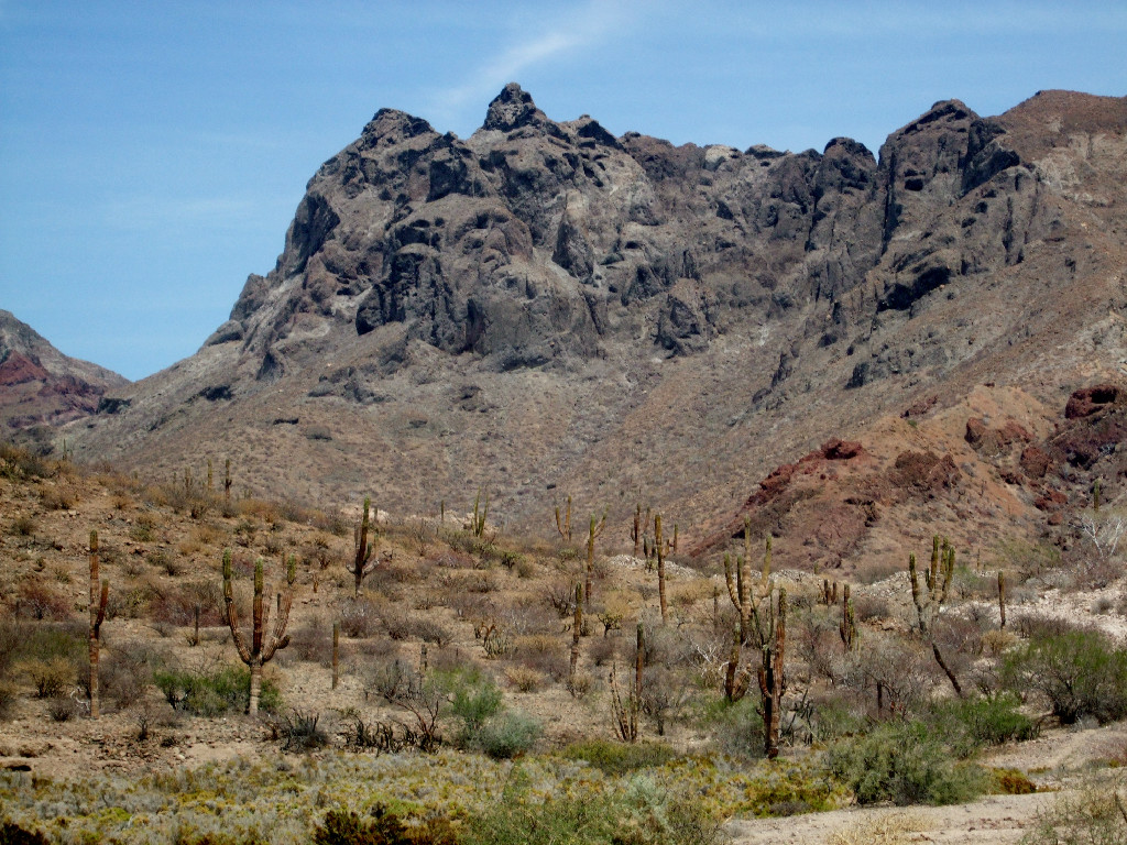 Explore the awesome desert areas around La Paz!